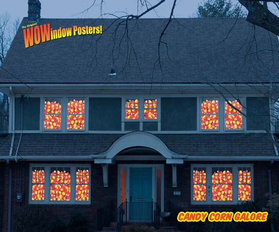 House full of Candy Corn © WOWindow