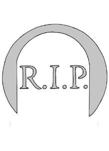 Schnitzvorlage RIP