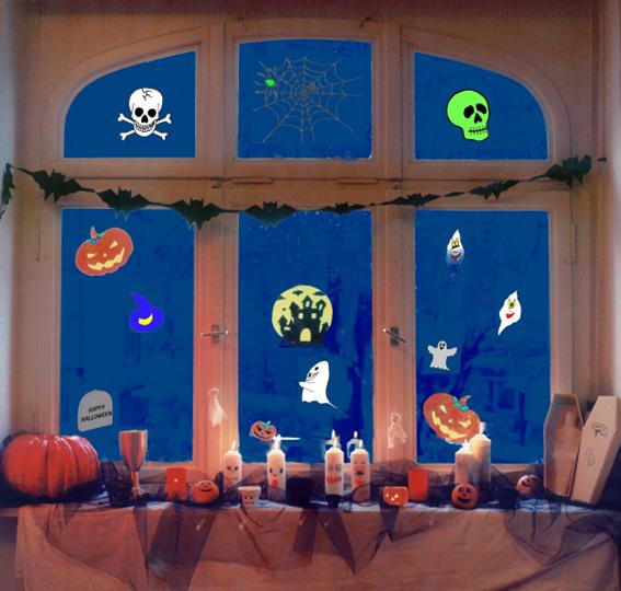 Halloween WidowColor im Einsatz
